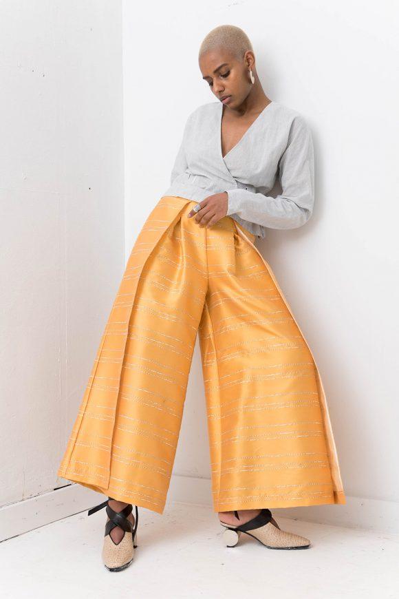 Silvae Dora Pant Yellow